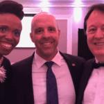 With Kellylee Evans and Carleton President Benoit Antoine Bacon at Chamberfest Gala (September 20, 2018)